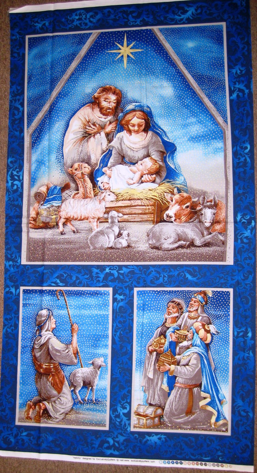 Nativity Panel 61273