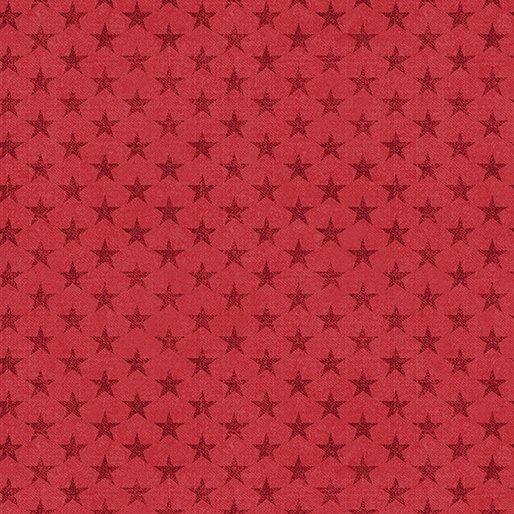 American Rustic 6336-10 Tonal Stars Red