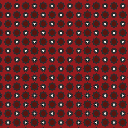American Rustic 6338-10 Foulard Red