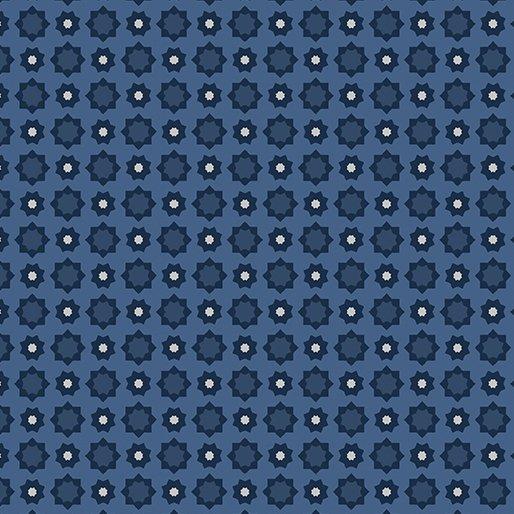 American Rustic 6338-55 Foulard Blue
