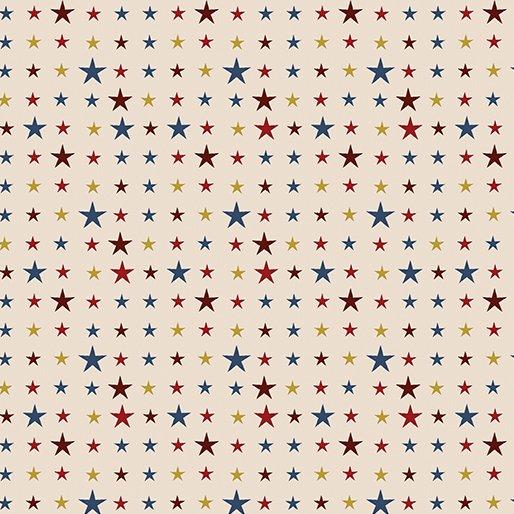 American Rustic 6340-07 Tiny Stars Cream