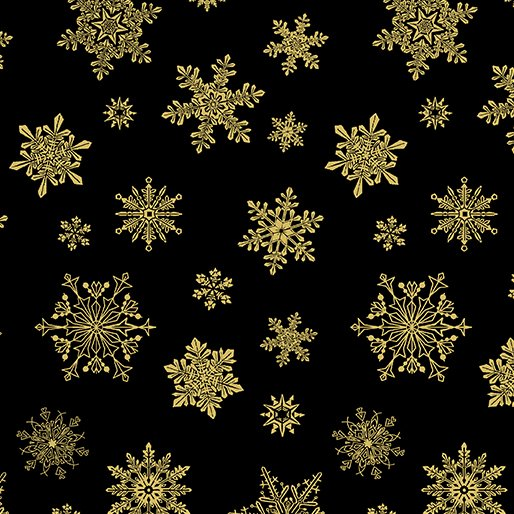 Catitude 6747M-12 Snowflakes Black