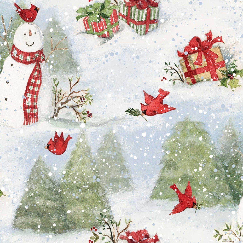 Snowmen & Cardinals 69168 Winter
