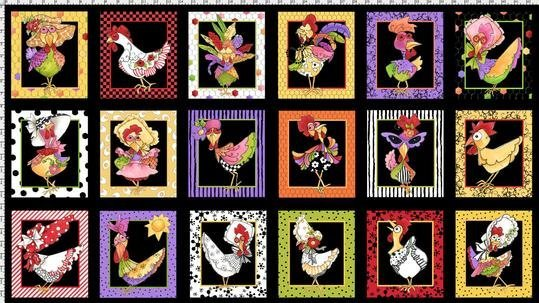 Chicken Chique Panel 692-223