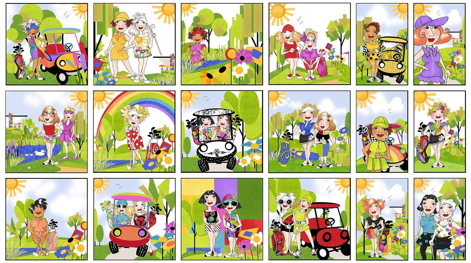 Golf Happy 692-365 Panel