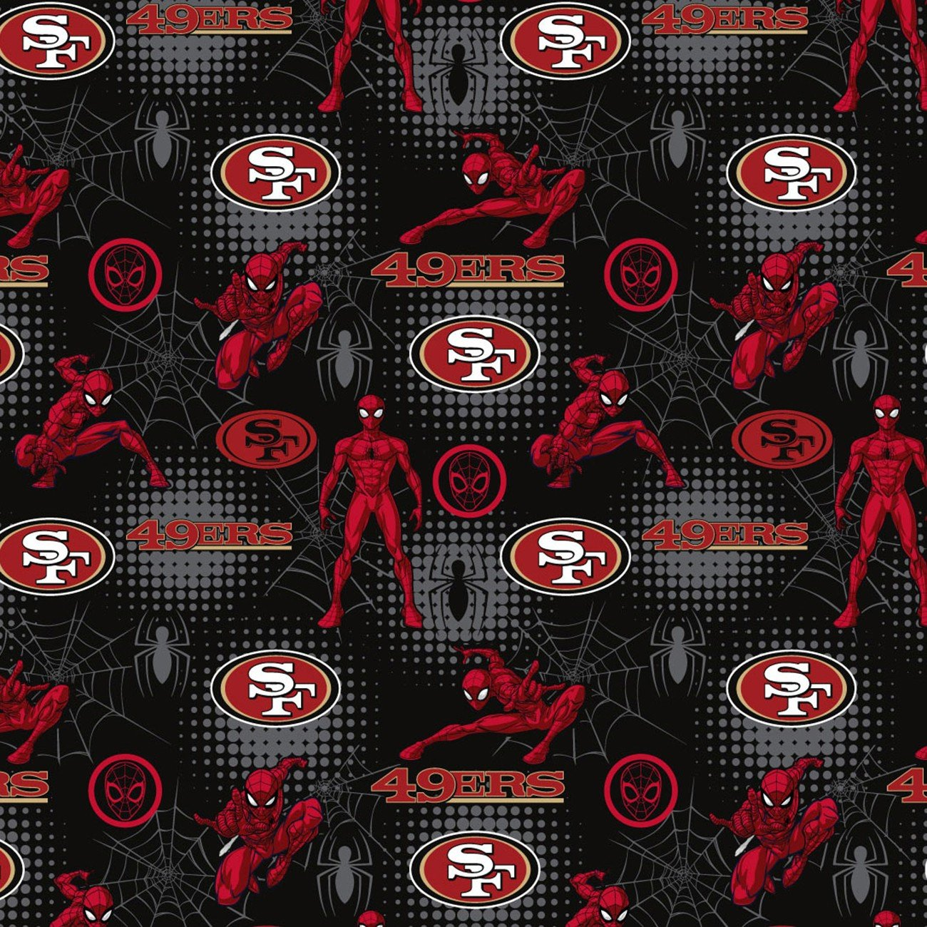 NFL SAN FRANCISCO 49ERS 70400 SPIDERMAN