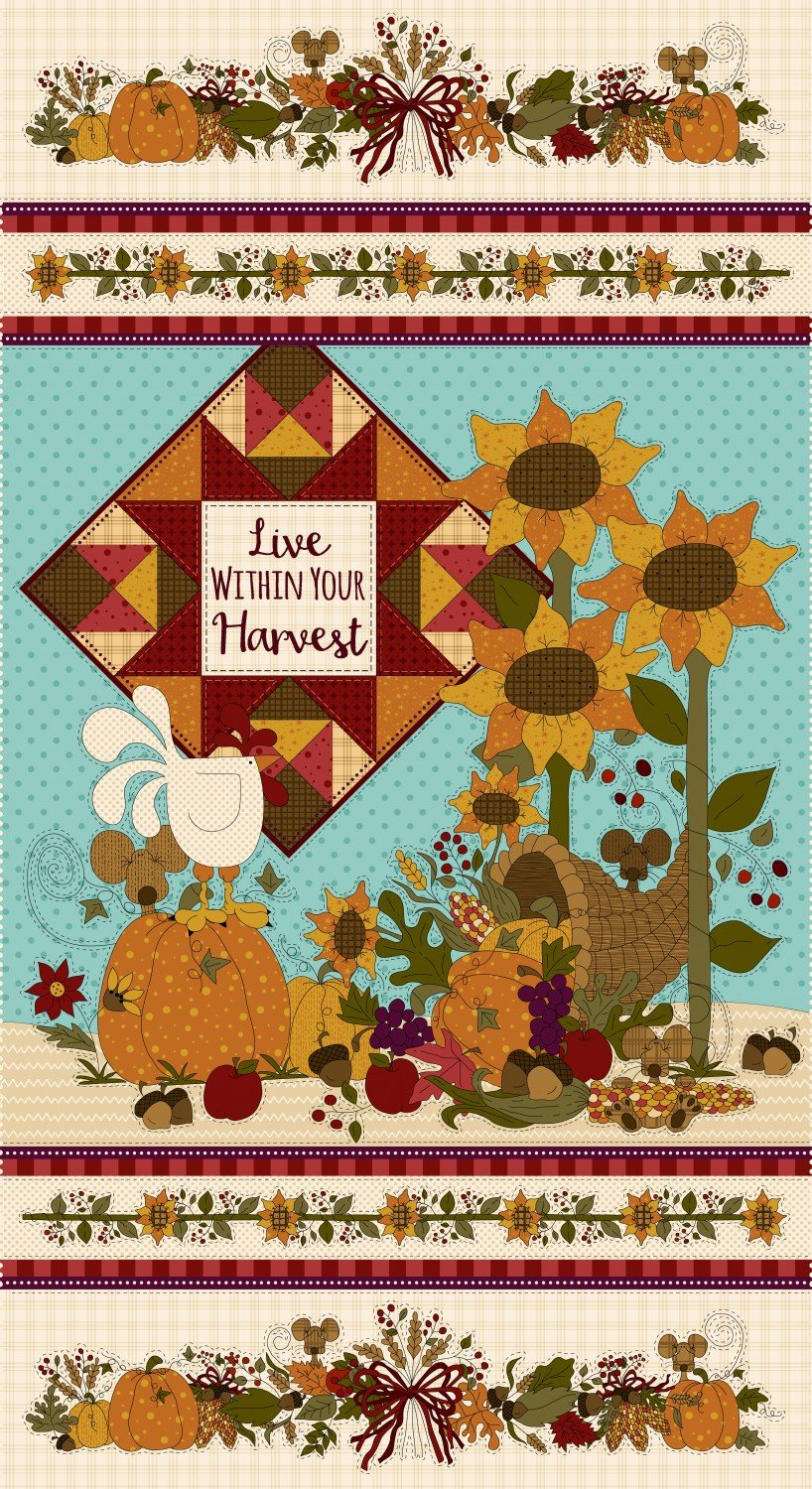 Live Within Your Harvest 7181-44 Panel