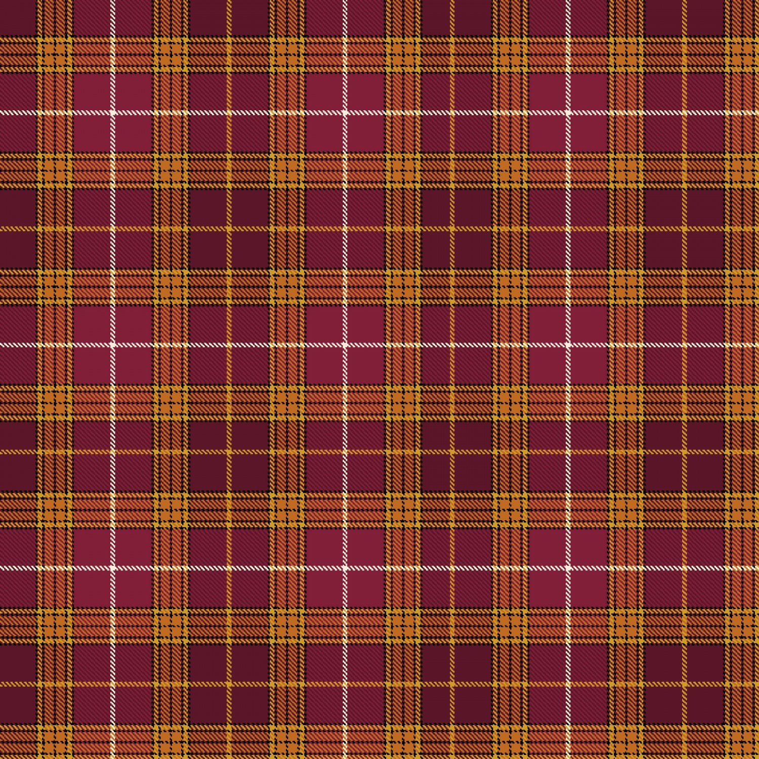 Live Within Your Harvest 7186-89 Burgundy Plaid