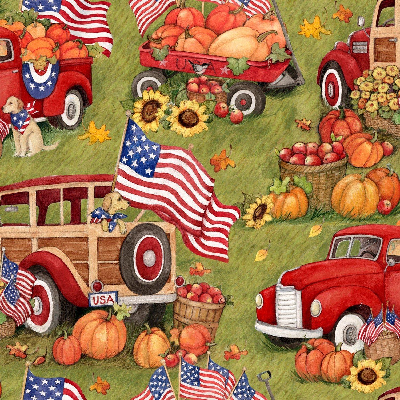 Patriotic 72541 Harvest