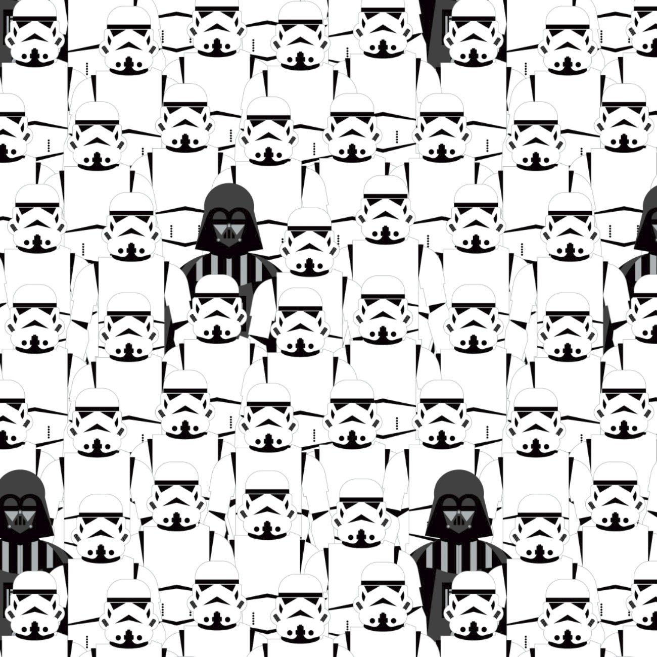 *EOB* Star Wars 73011105-1 Stacked Troopers - 0.26 YD