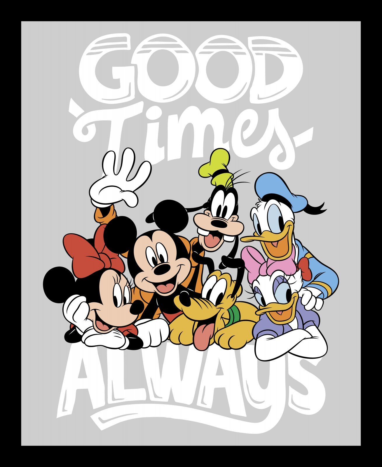 Disney Mickey & Minnie 73184 True Friends Panel