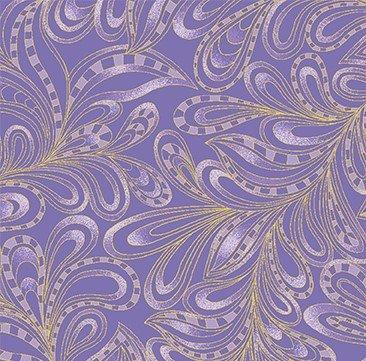 Cat-i-tude Paisley 7555M-66 Purple