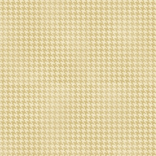 Harvest 7564-07 Houndstooth Cream