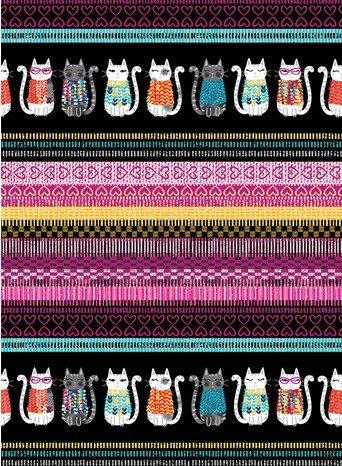 Knit Together 7870-99 Border Stripe