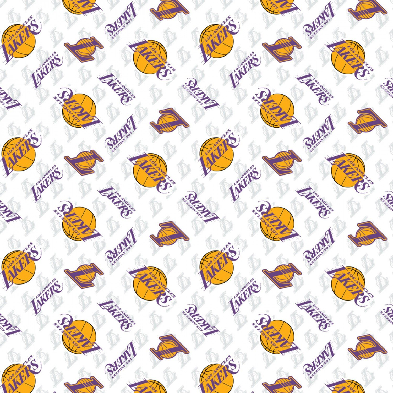 NBA Los Angeles Lakers 002 Purple/Gold