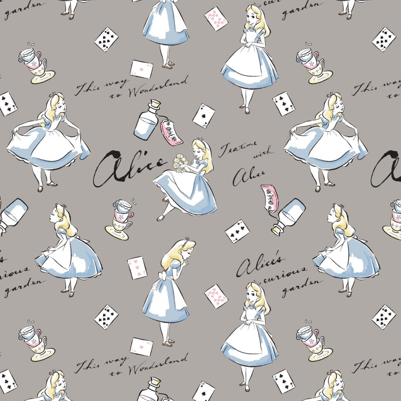 Alice in Wonderland 8502001-1 Grey