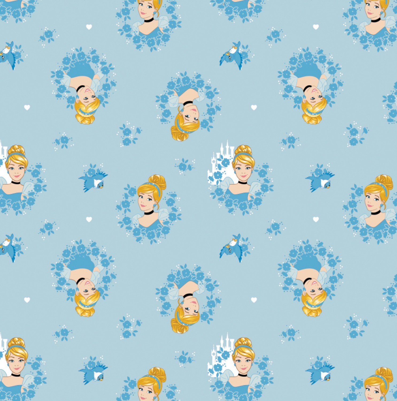 Cinderella 85100518-1 Blue Wreaths