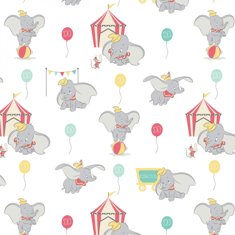 Disney Circus Dumbo 85160201-01 Balloons White