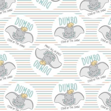 Disney Dumbo Star of the Show 85160304-01 White