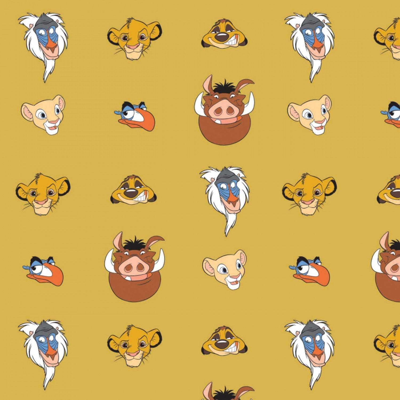 Lion King 85260203-04 Faces Gold