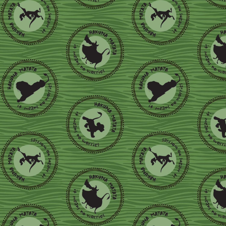Lion King 85260206-03 Green Medallions