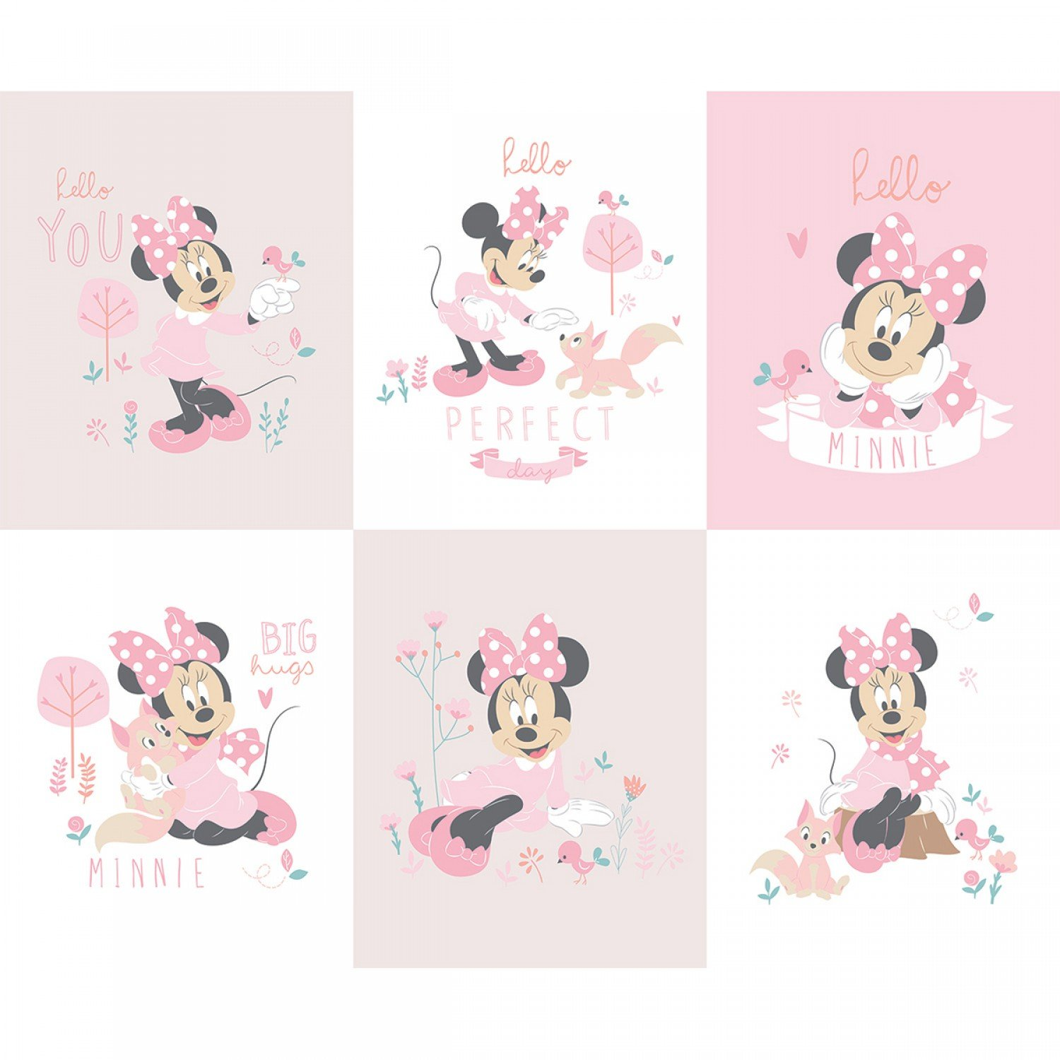 Minnie Mouse 85270407-P Panel