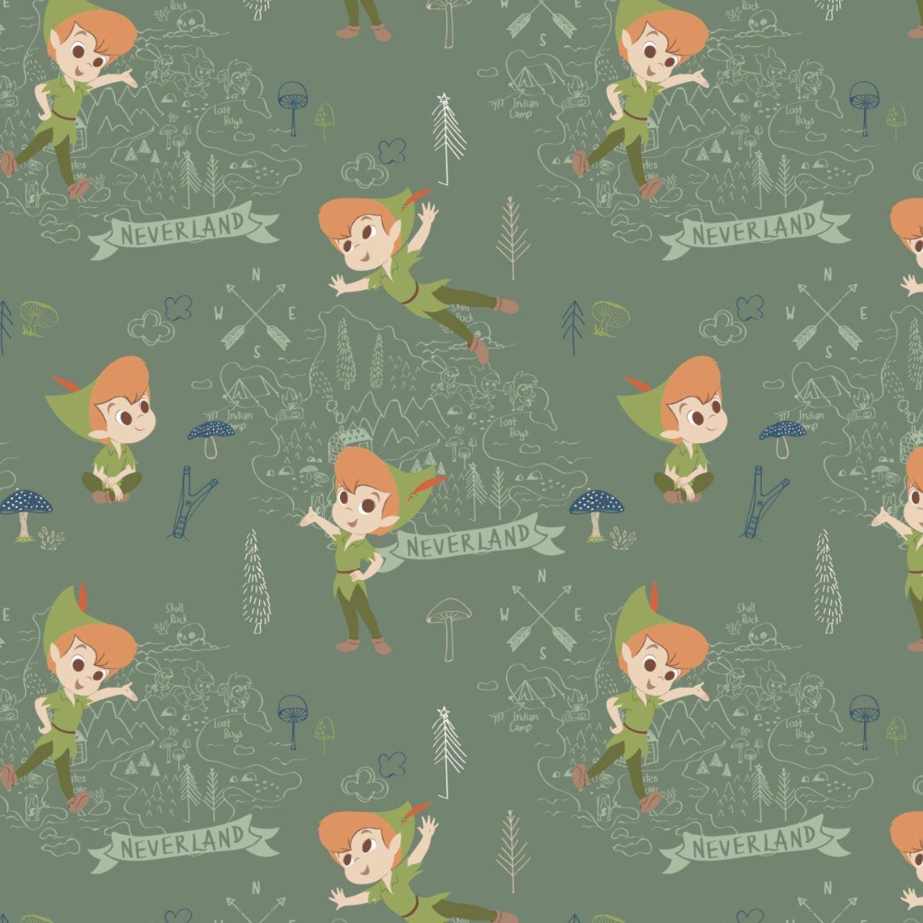 Disney Peter Pan 201-2 Green Neverland Adventures