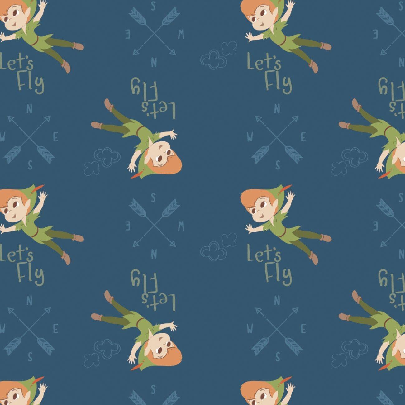 Disney Peter Pan 204-2 Blue Let's Fly