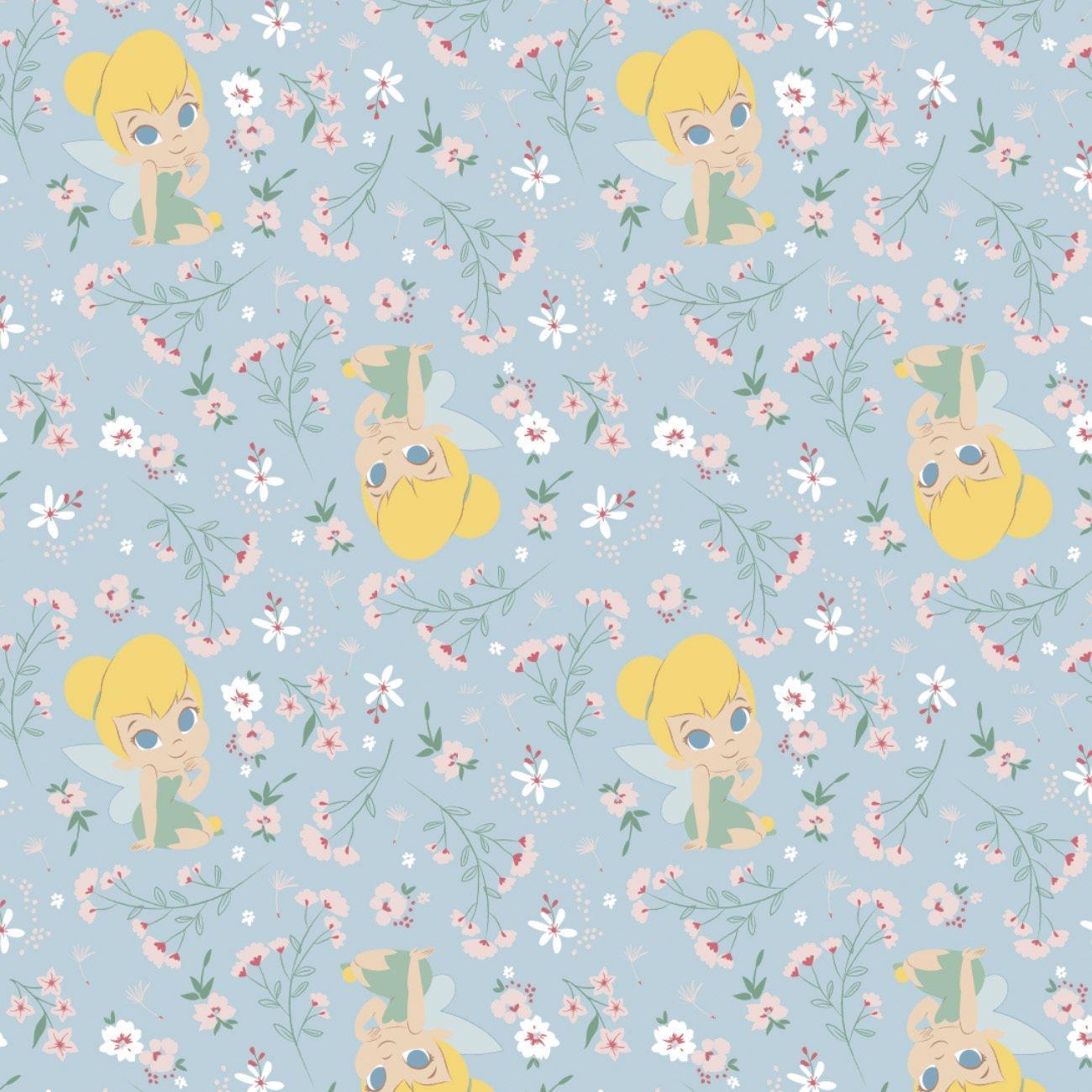 Disney Tinkerbell 304-2 Blue Neverland Gardens