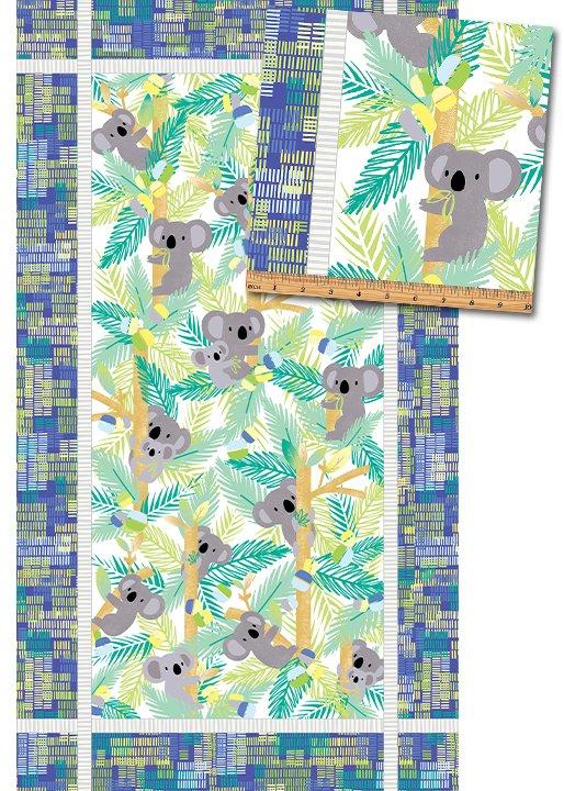 Koala Baby 8680-54 Blue Panel