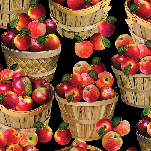 Apple Gala 8853-12 Round Baskets