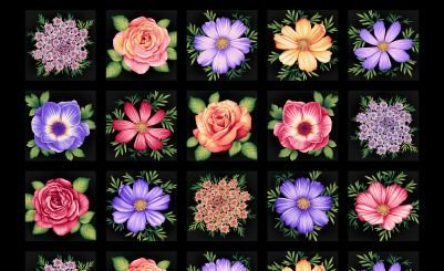 Botanica Blooms 8941-99 Panel