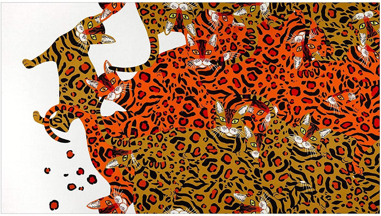 Kenyan Cat 8801 Orange/Tan