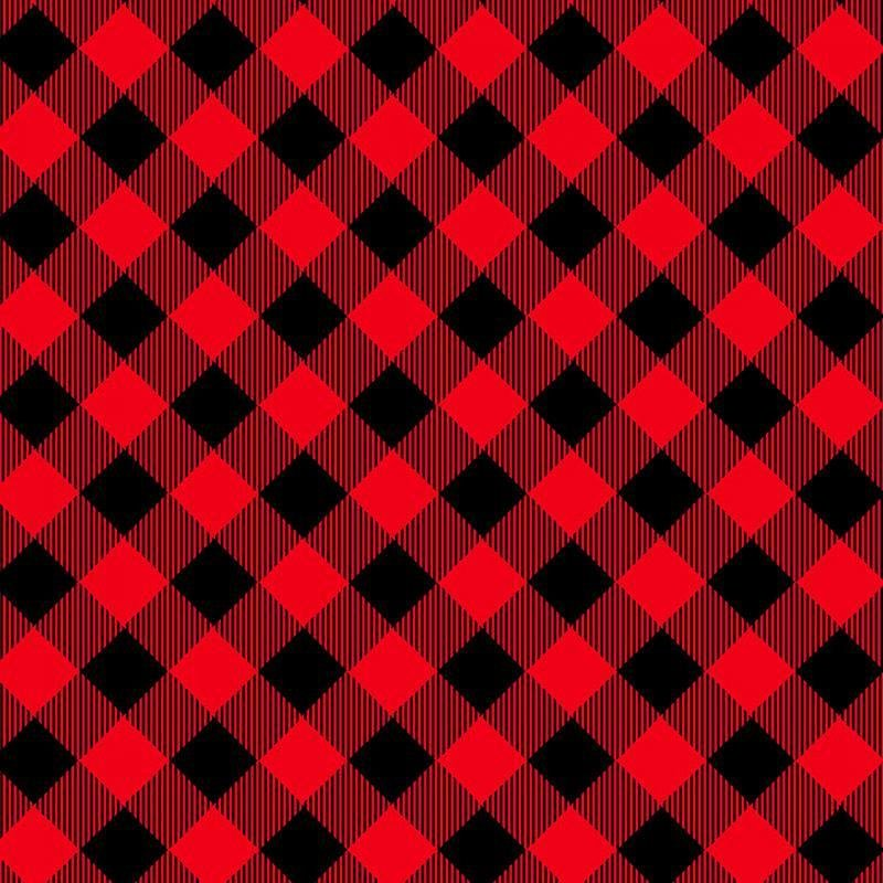 Priscilla's Pretty Plaids 9300-89 Buffalo Red