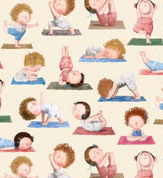 Yoga Babies 9301 Cream