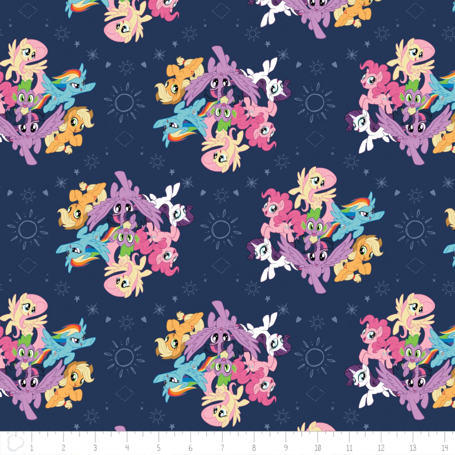 My Little Pony 95010101-3 Navy