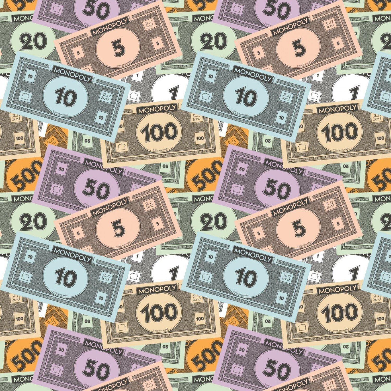 Hasbro Monopoly 95070212-1 Money Stack