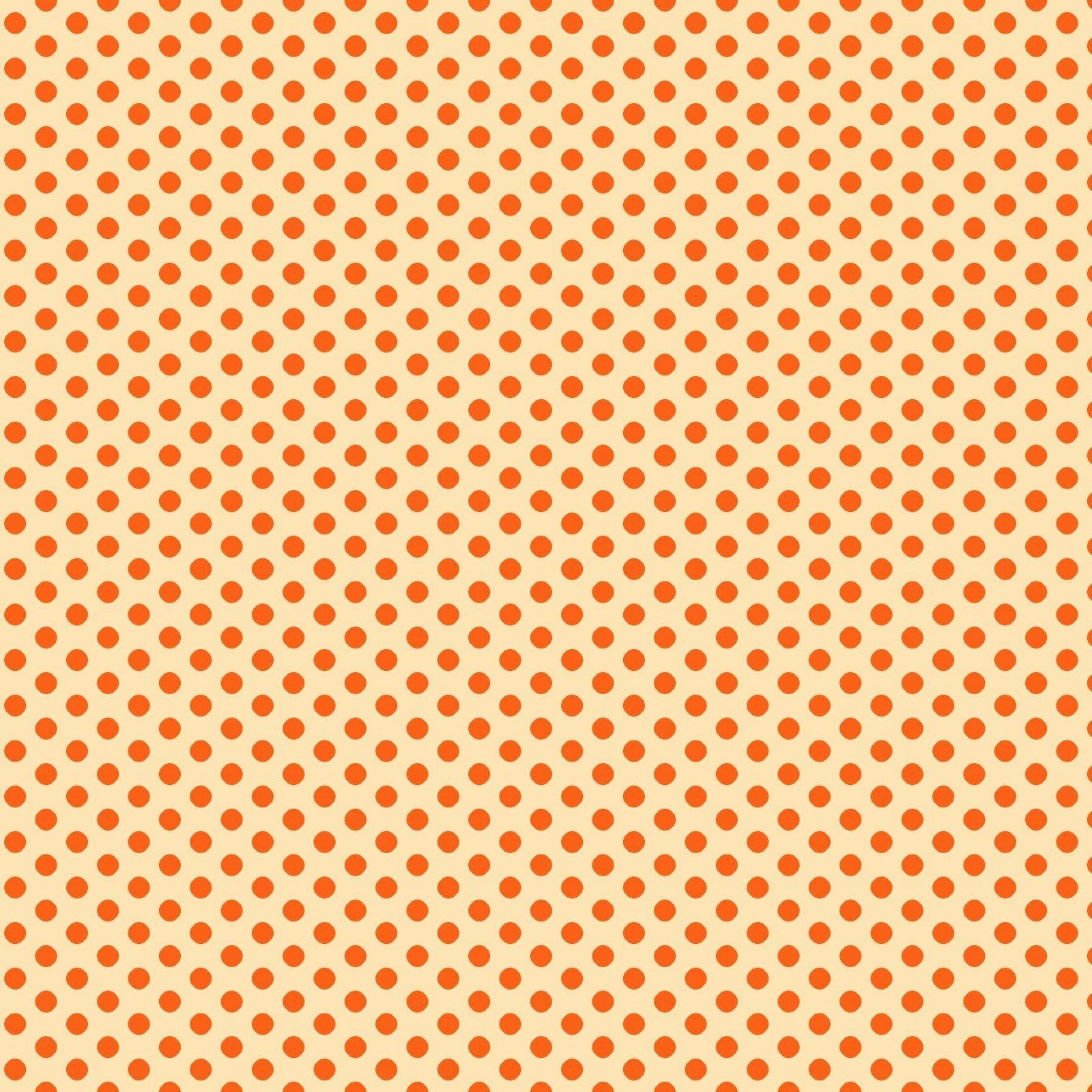 Library 9567-43  Light Orange Small Dots