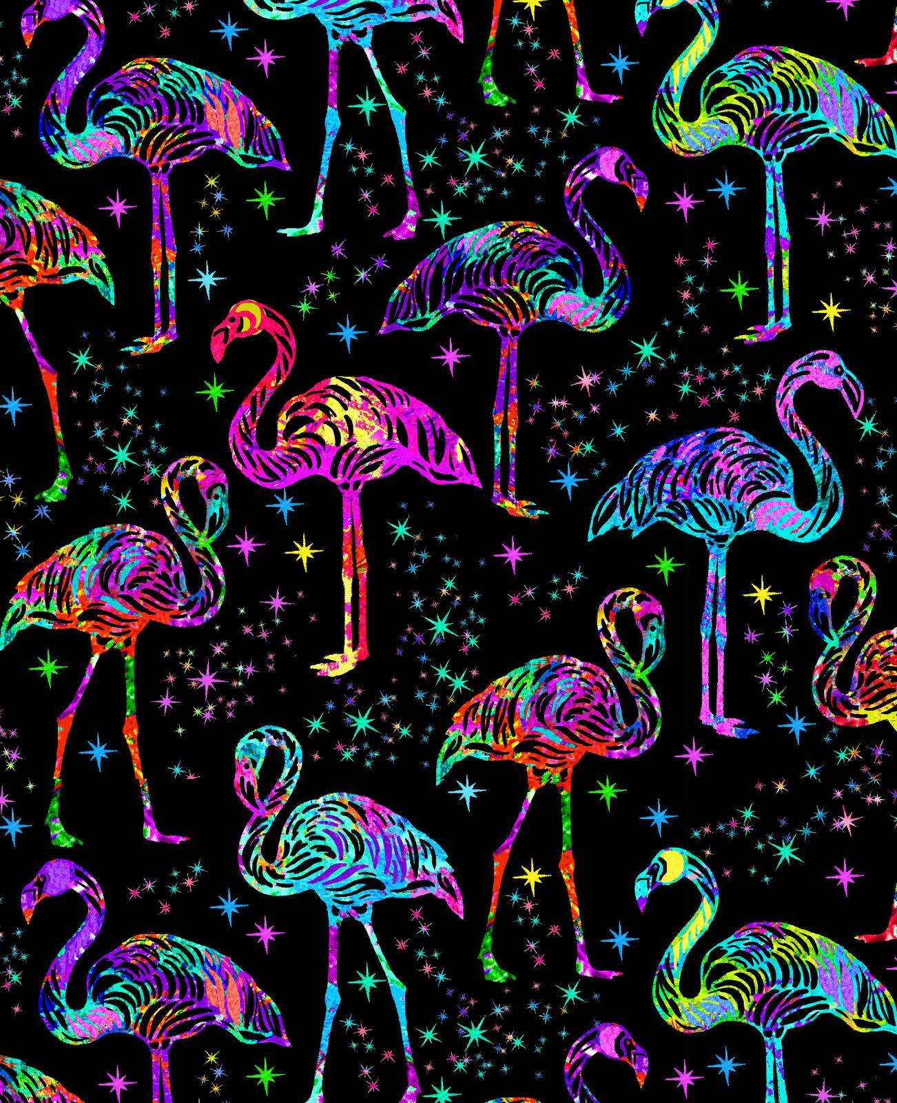 Neon Flamingo C7950 Black