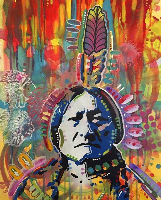 Sitting Bull 3767 Panel