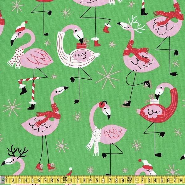 Fa La La Flamingo 8840 Green
