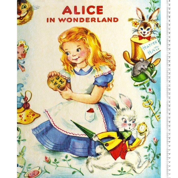 Vintage Princess Storybooks 0148 Alice Panel