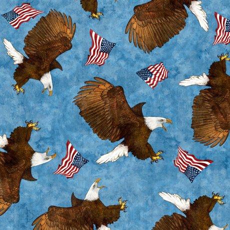 All American 27616-B Eagles Blue