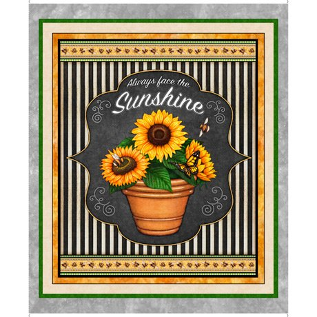 Always Face The Sunshine 27842-K Panel