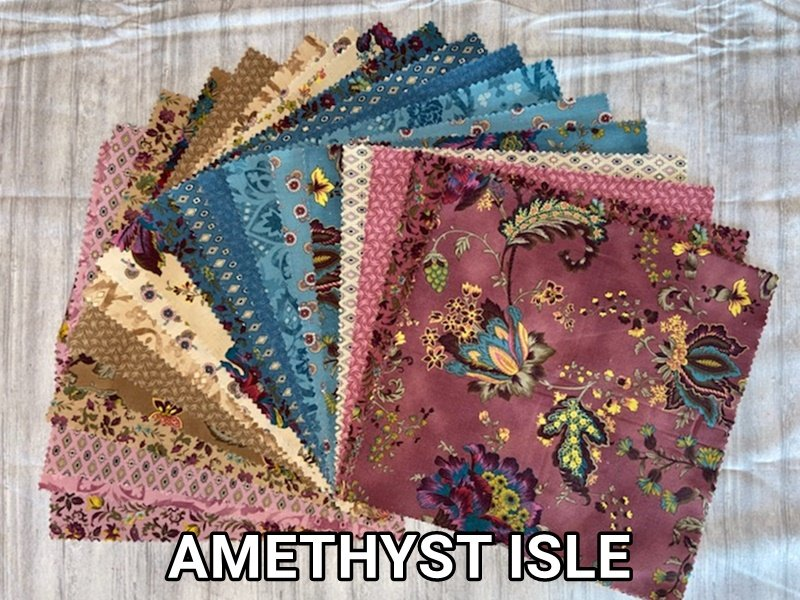 Boundless Amethyst Isle 42 Piece 10 Layer Cake