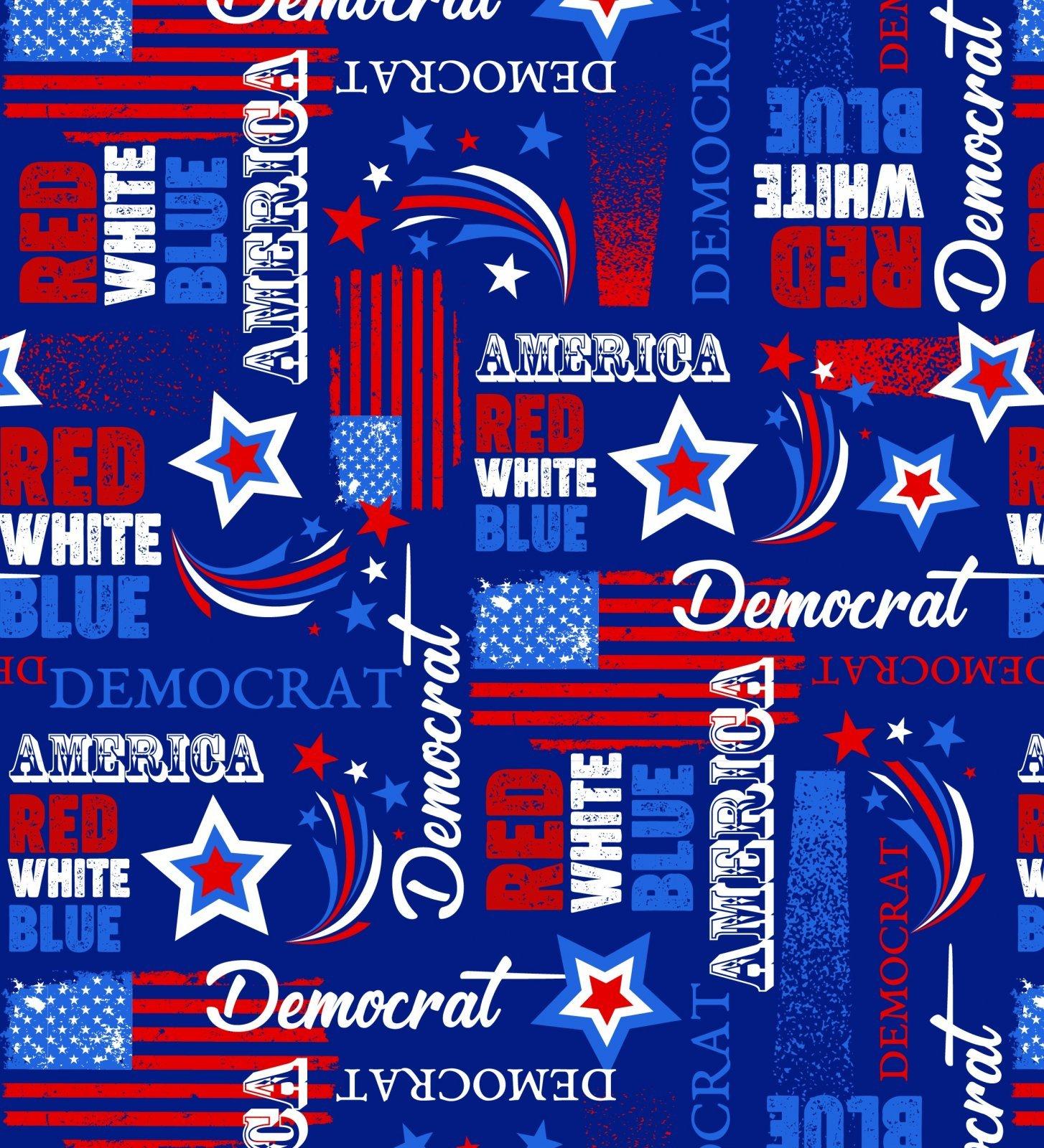 American Democrat 2072 Blue