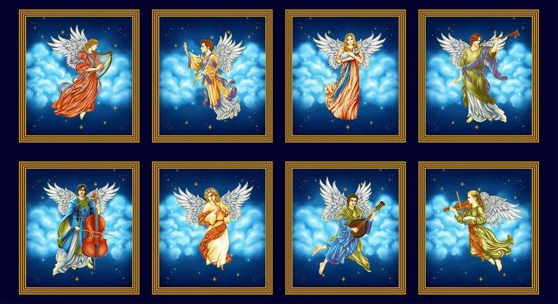 Angel Blocks 2507-77 Metallic