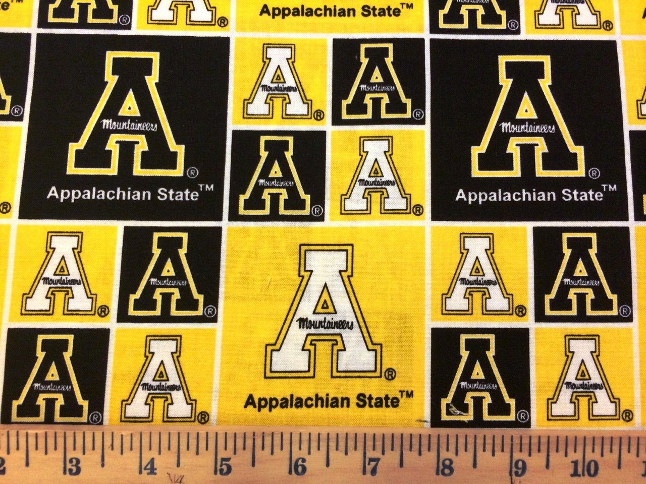 NCAA Appalachian State 020 Blocks