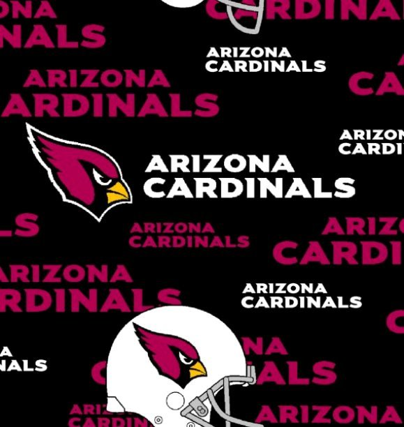 NFL Logo Arizona Cardinals 6239 Black