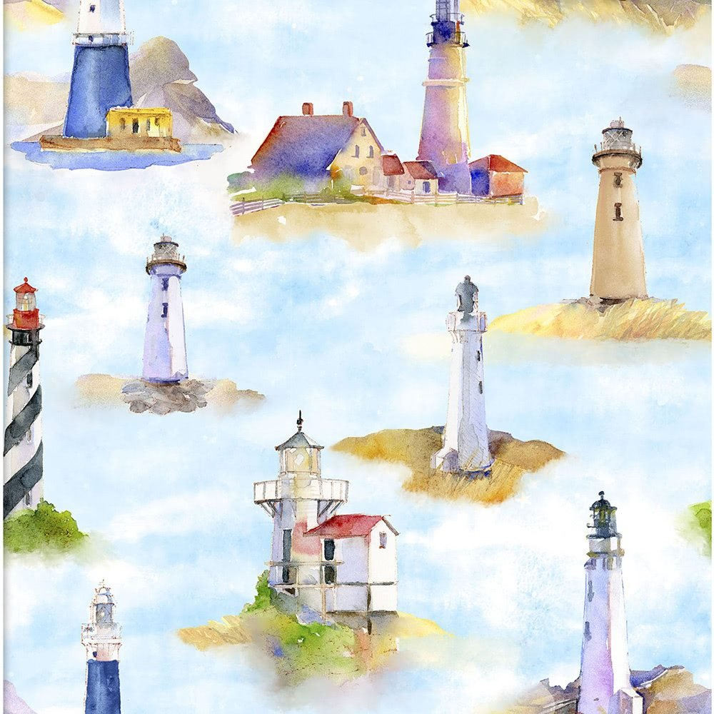 At The Shore 16055 Lighthouses